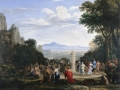 Claude Lorrain ' The Adoration of the Golden Calf'
