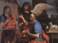 Giovani Francesco Barbieri called Il Guercino   'Saint Luke displaying a painting of the Virgin'