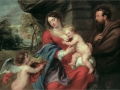 Sir Peter Paul Rubens 'Holy Family'